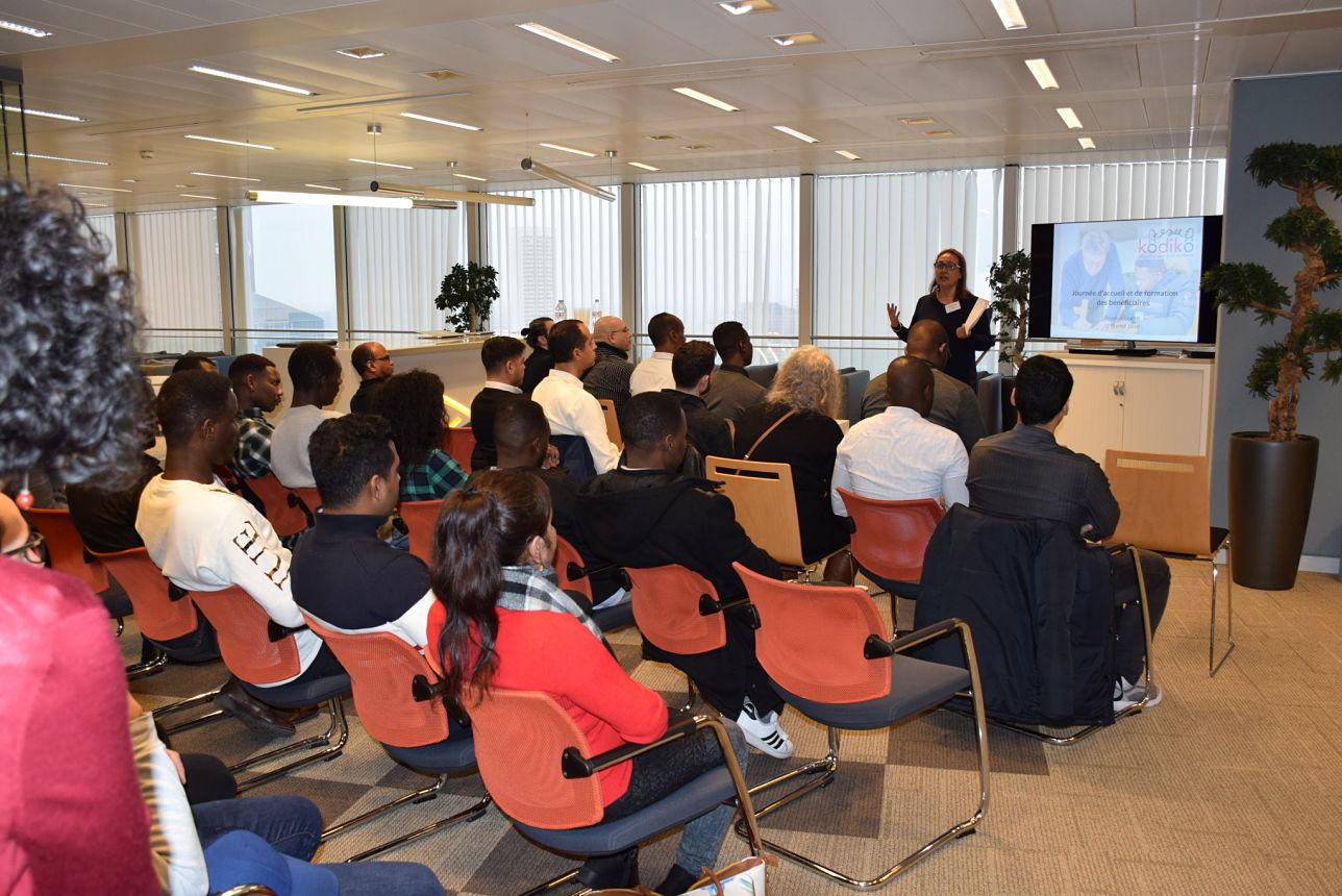 Kodiko programme de co-training pour l'accompagnement des réfugiés