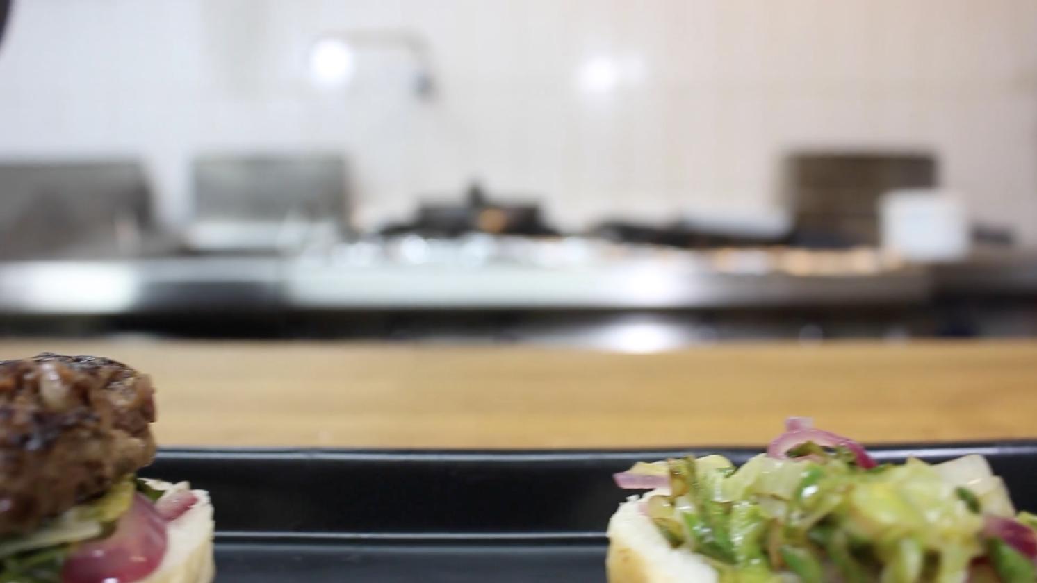 Burger Flipping Startup