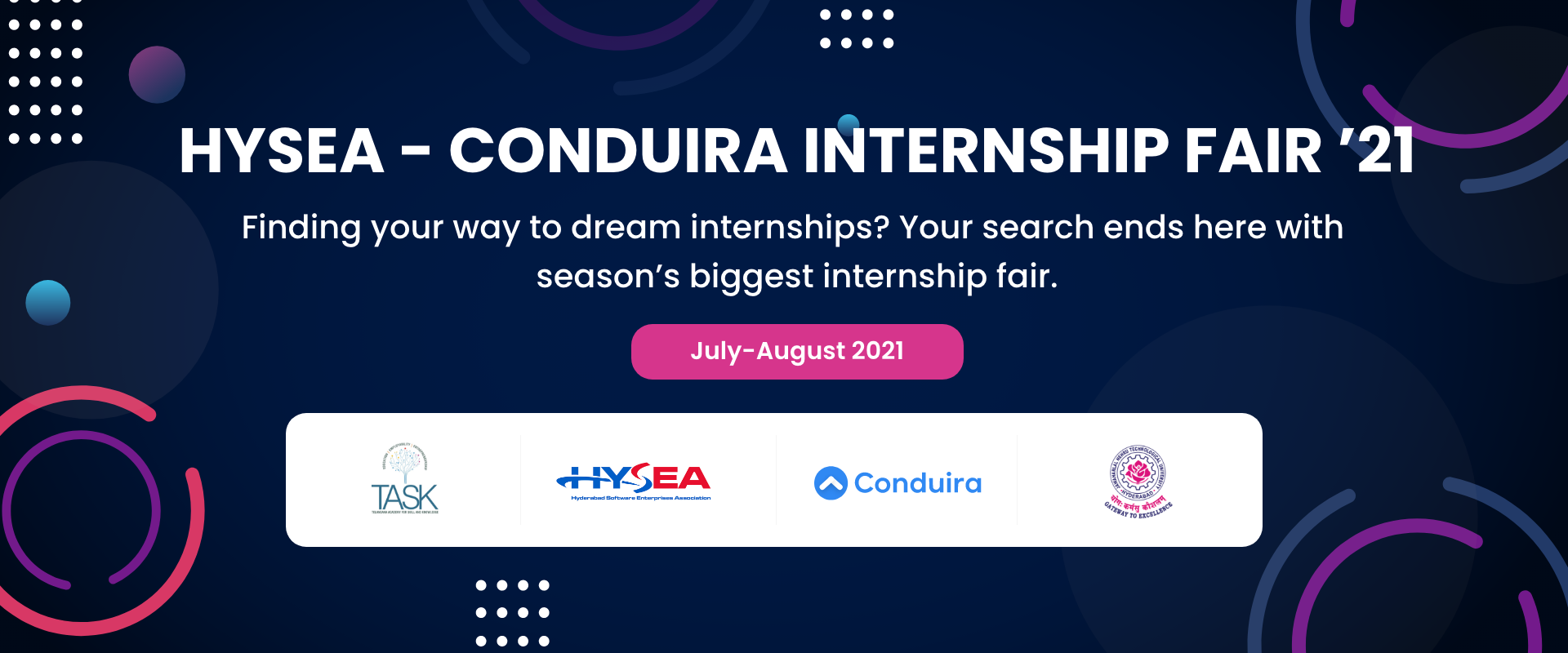 50+ companies are expected to float 100 + internship roles and 800+ internship positions