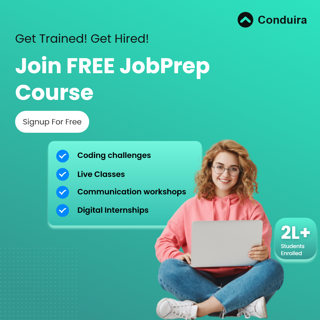 Conduira Job Prep Course Sign up for Free