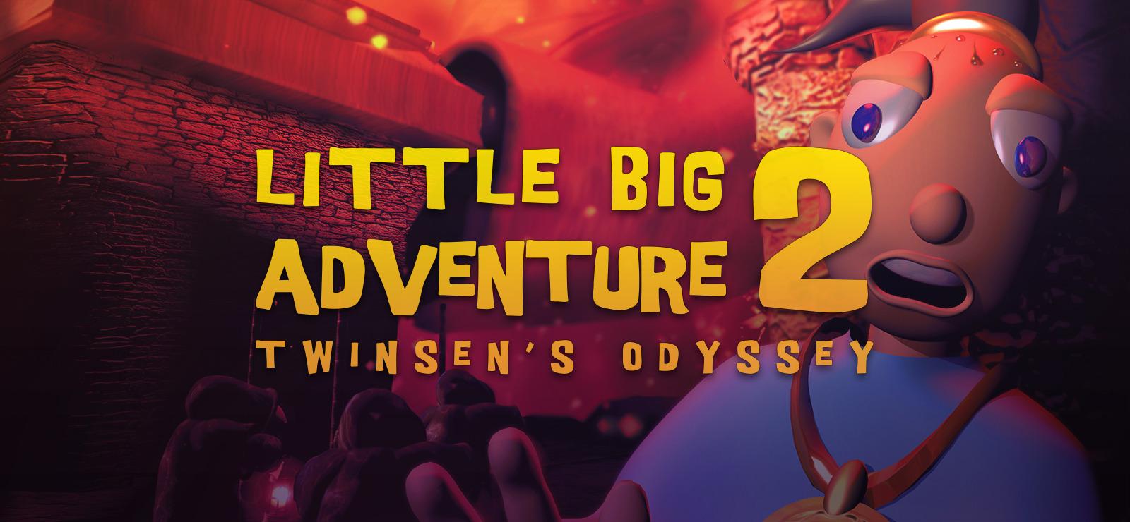 Little Big Adventure 2 cover