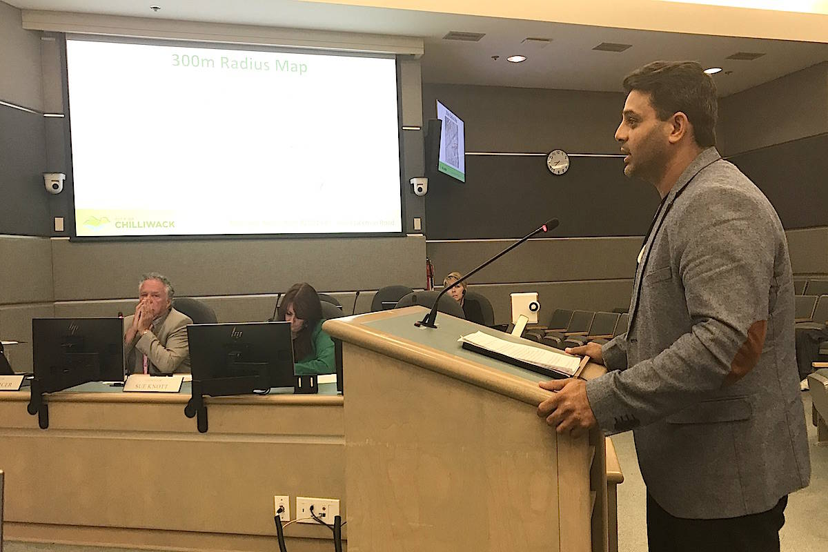 Cannabis store proposal in Chilliwack was referred back to staff to clarify buffer zone confusion