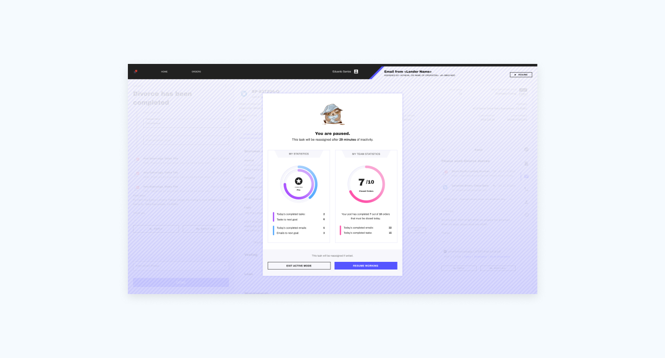 A small preview of the project deliverable