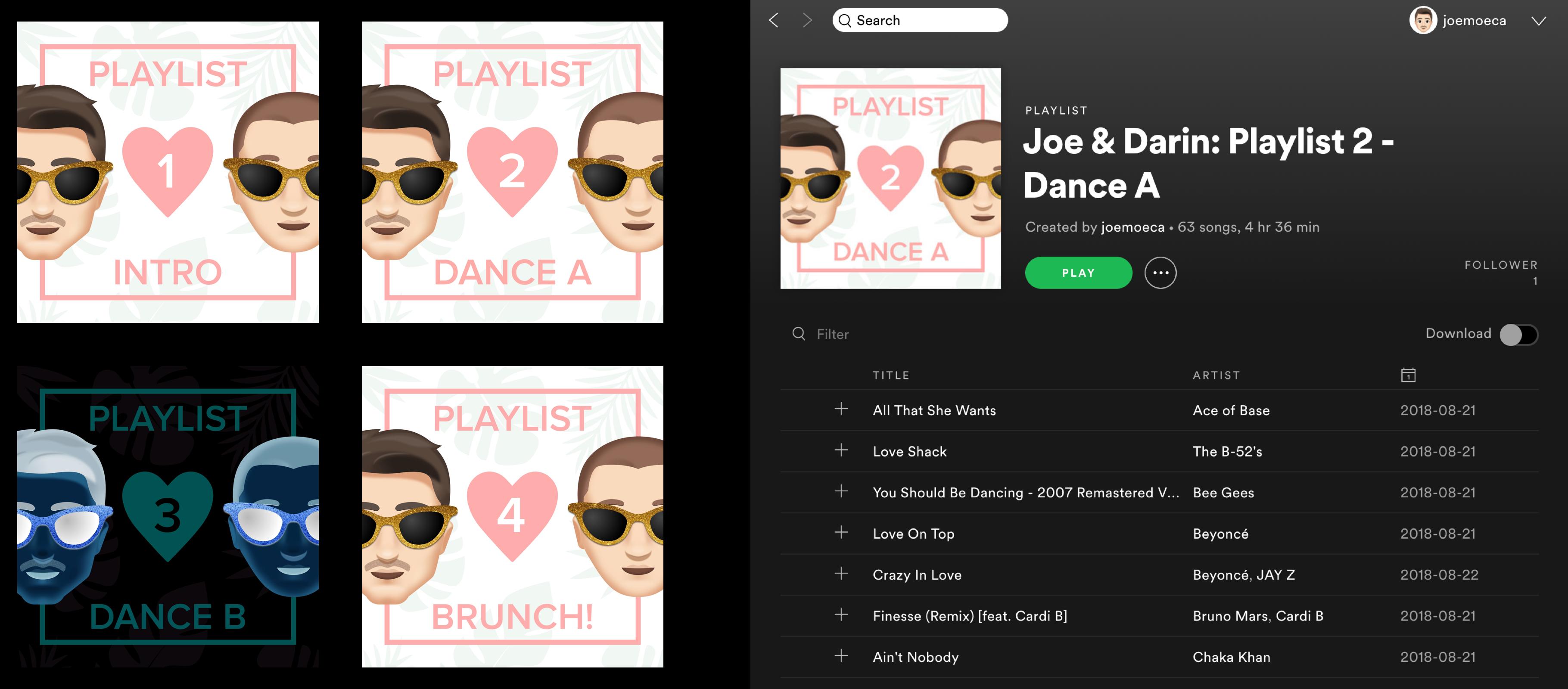 Spotify playlist artwork