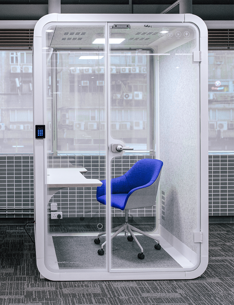 office phone booth hong kong