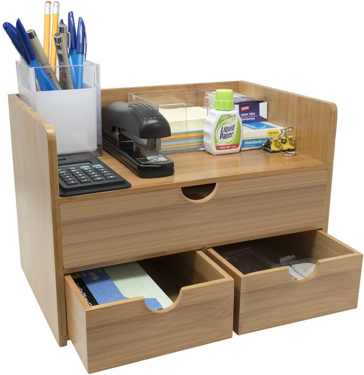 Desk storage home office