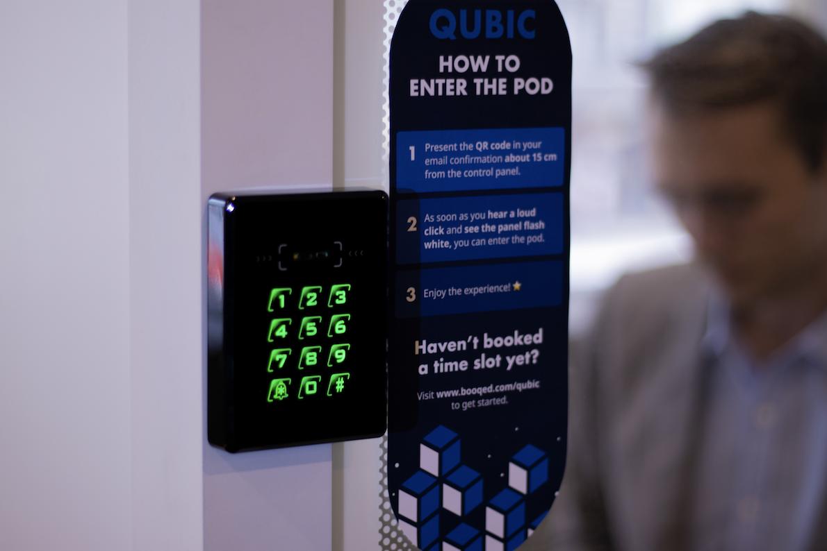 Work pod smart access control technology