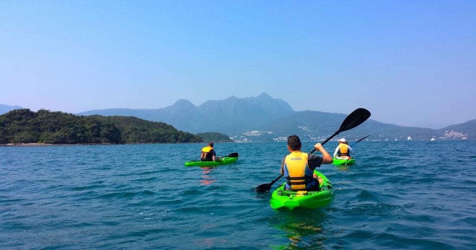 Kayaking Hong Kong