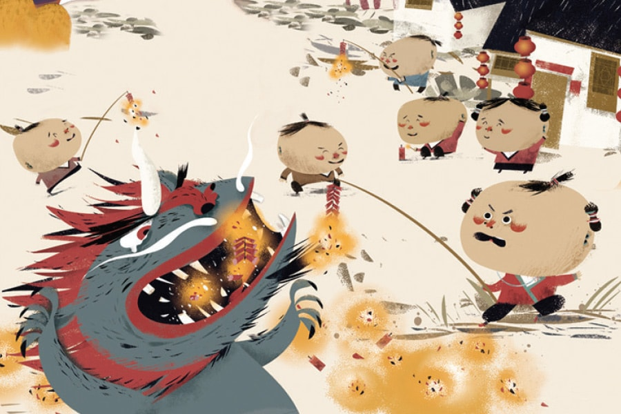 Chinese New Year Folklore The Nian
