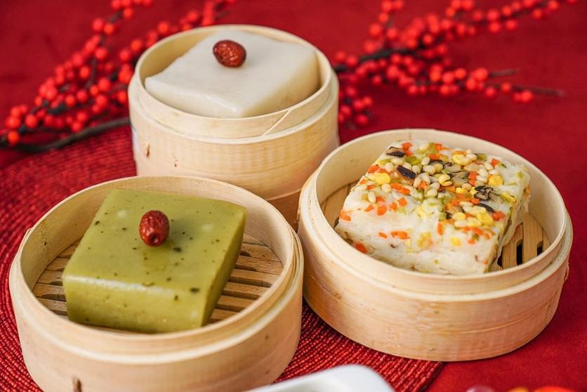 Chinese New Year Food Hong Kong Turnip Cake