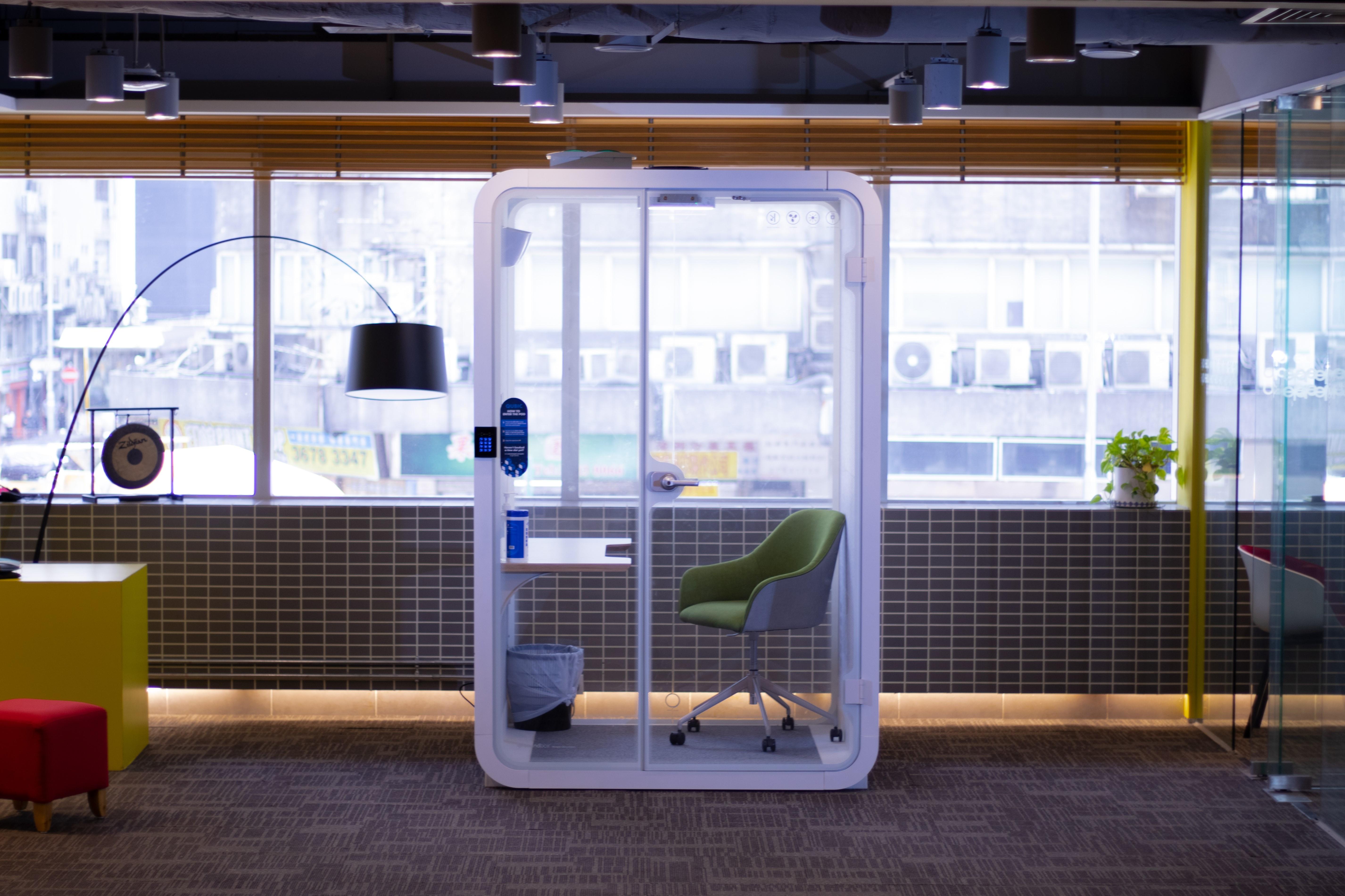 Work pod Hong Kong technology workspace solution