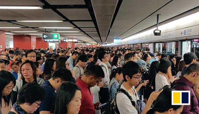 Commuting Hong Kong