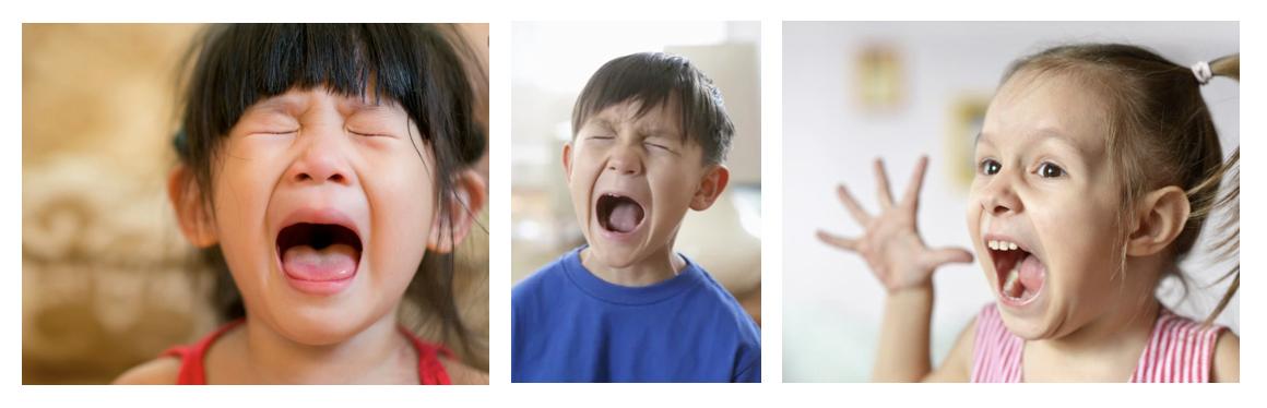 Children screaming