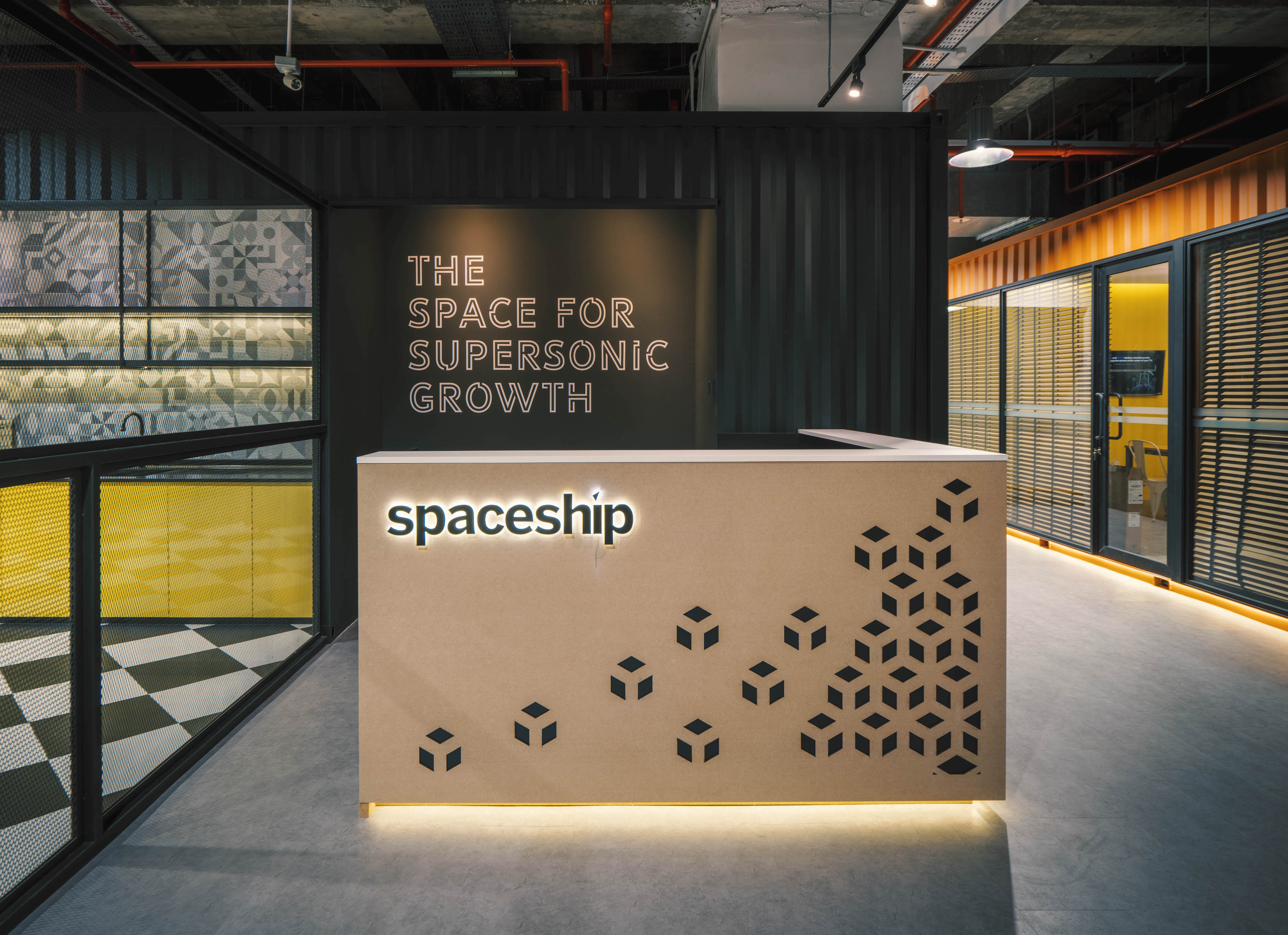 Spaceship: Singapore's first all-in-one co-warehouse with an on-site logistics service, coworking space and storage units