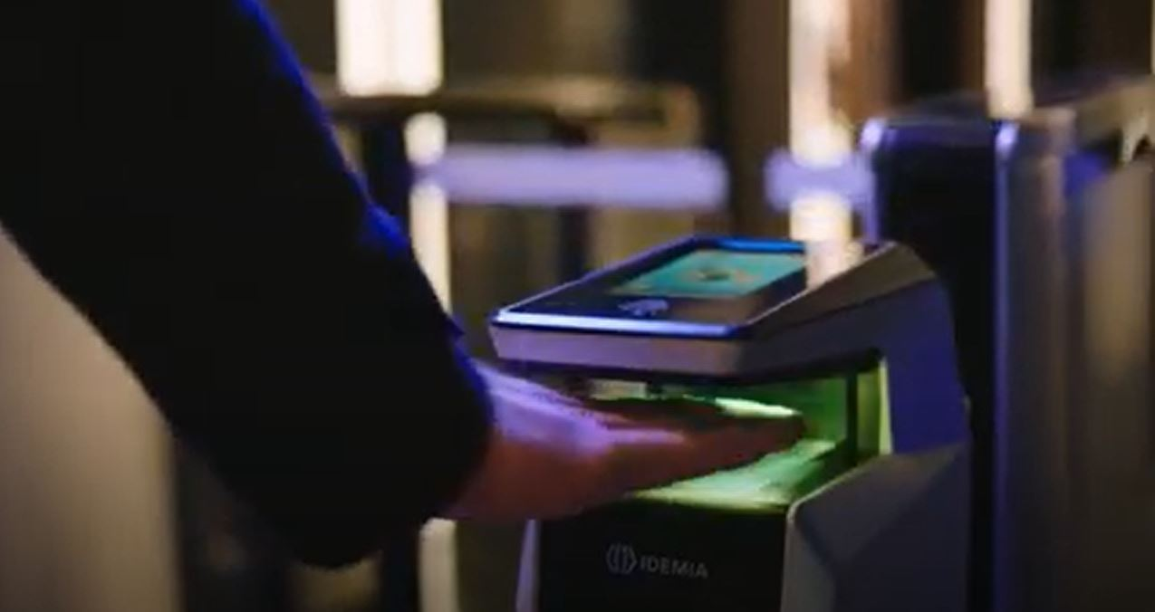 Contactless smart office