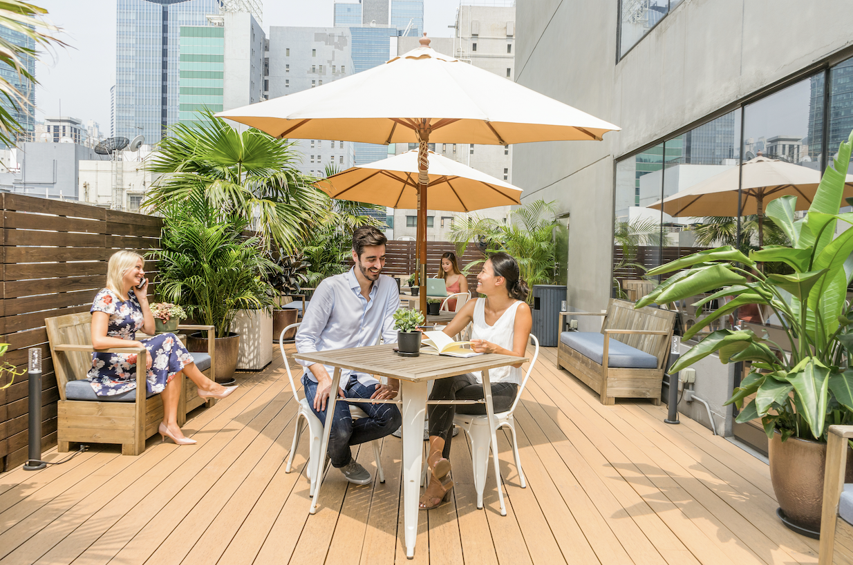 The Hive coworking space Hong Kong