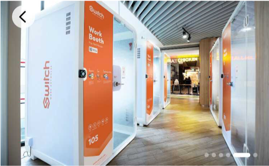 Work pod Singapore workspace solution technology