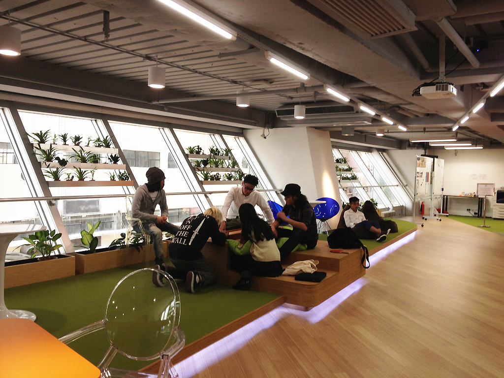 Hong Kong coworking space eco-friendly Cocoon