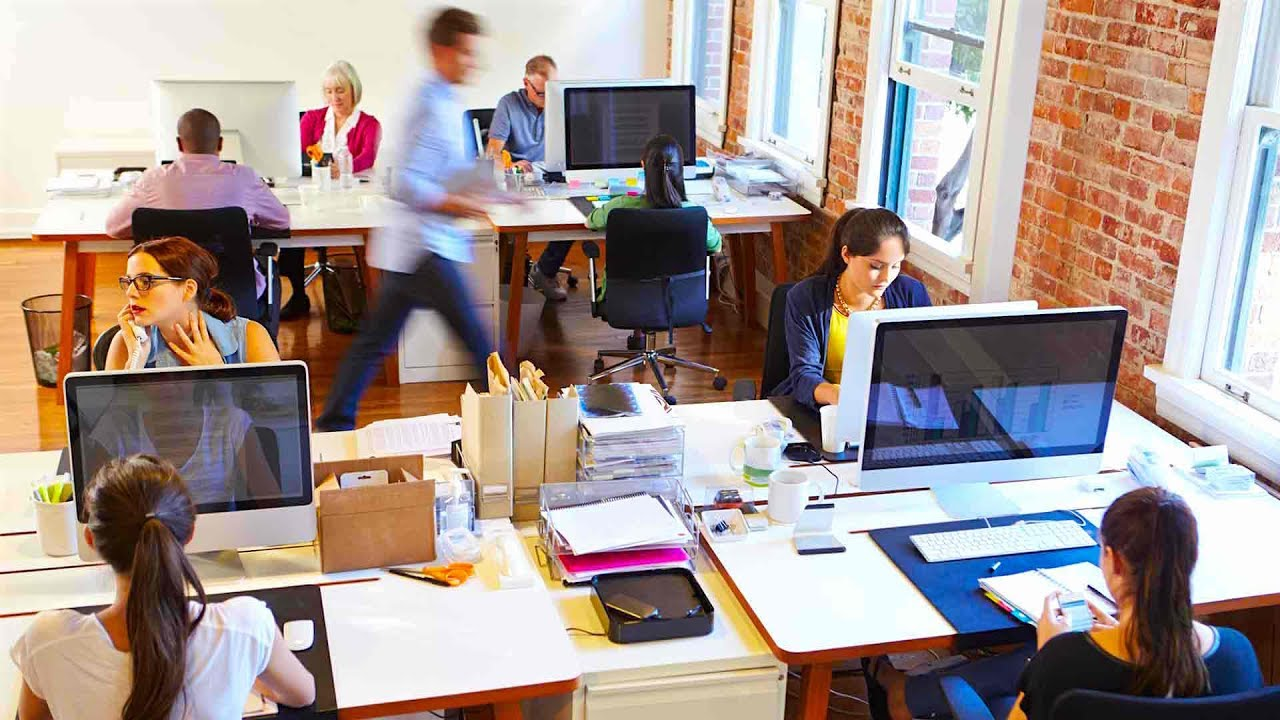 Office design crowded workspace space occupancy and utilization