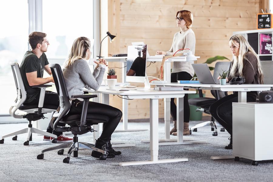 Office set up employee productivity
