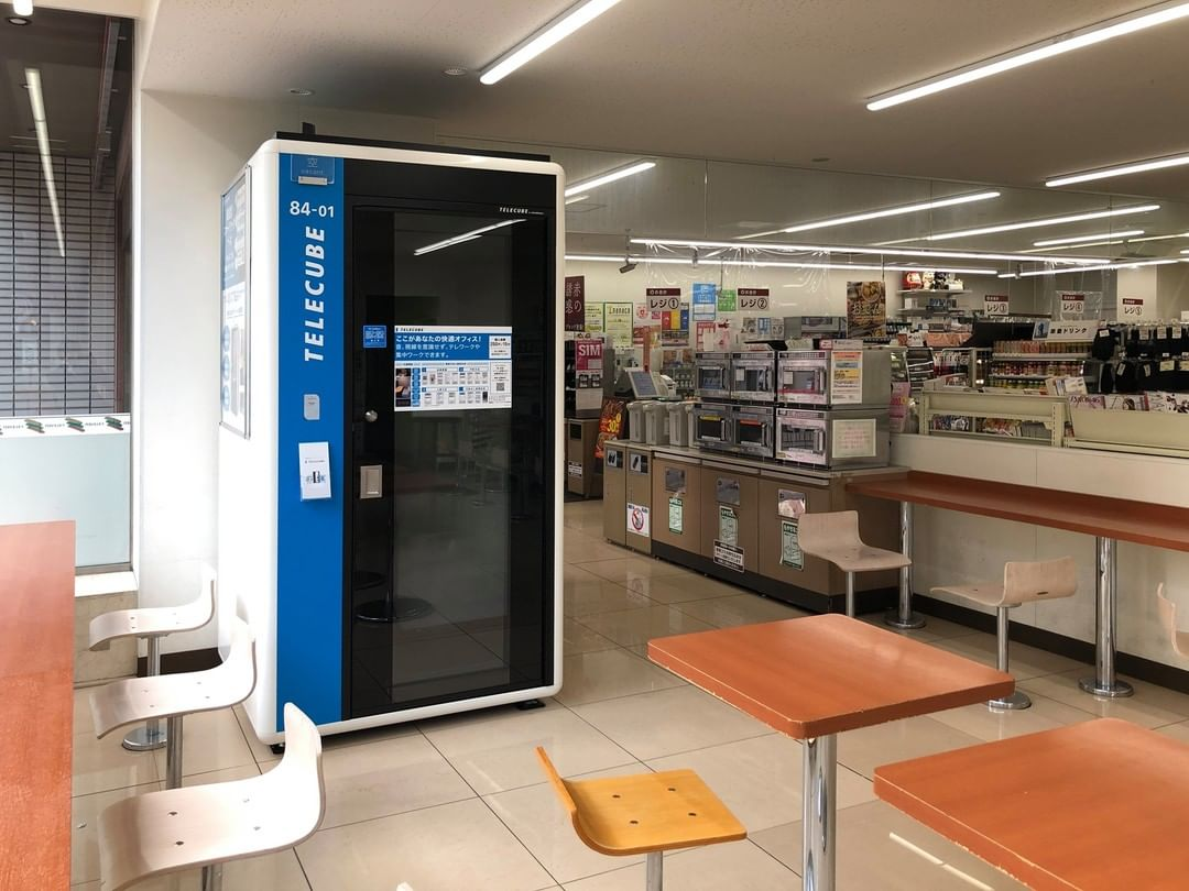 work booth japan
