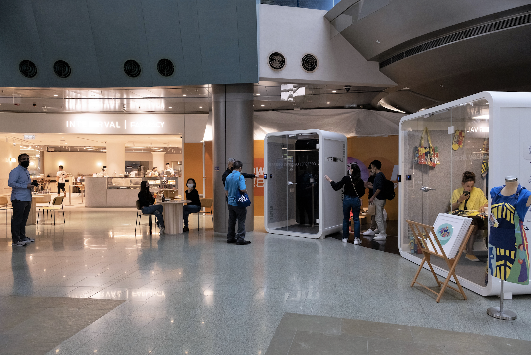 BOOQED launches QUBIC Smart Booths at INTERVAL in Cyberport