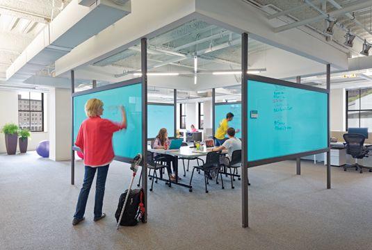 DPM - War Room - Writable wall option 1   Innovative office, Office space  design, Office interior design
