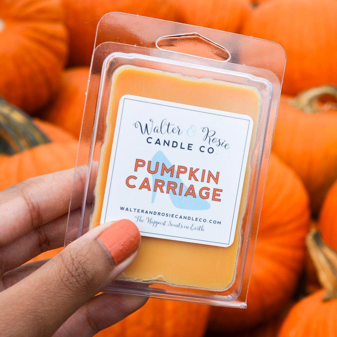 Walter & Rosie - Pumpkin Carriage