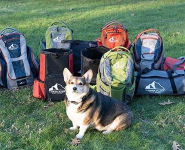 Upper Park Disc Golf bags