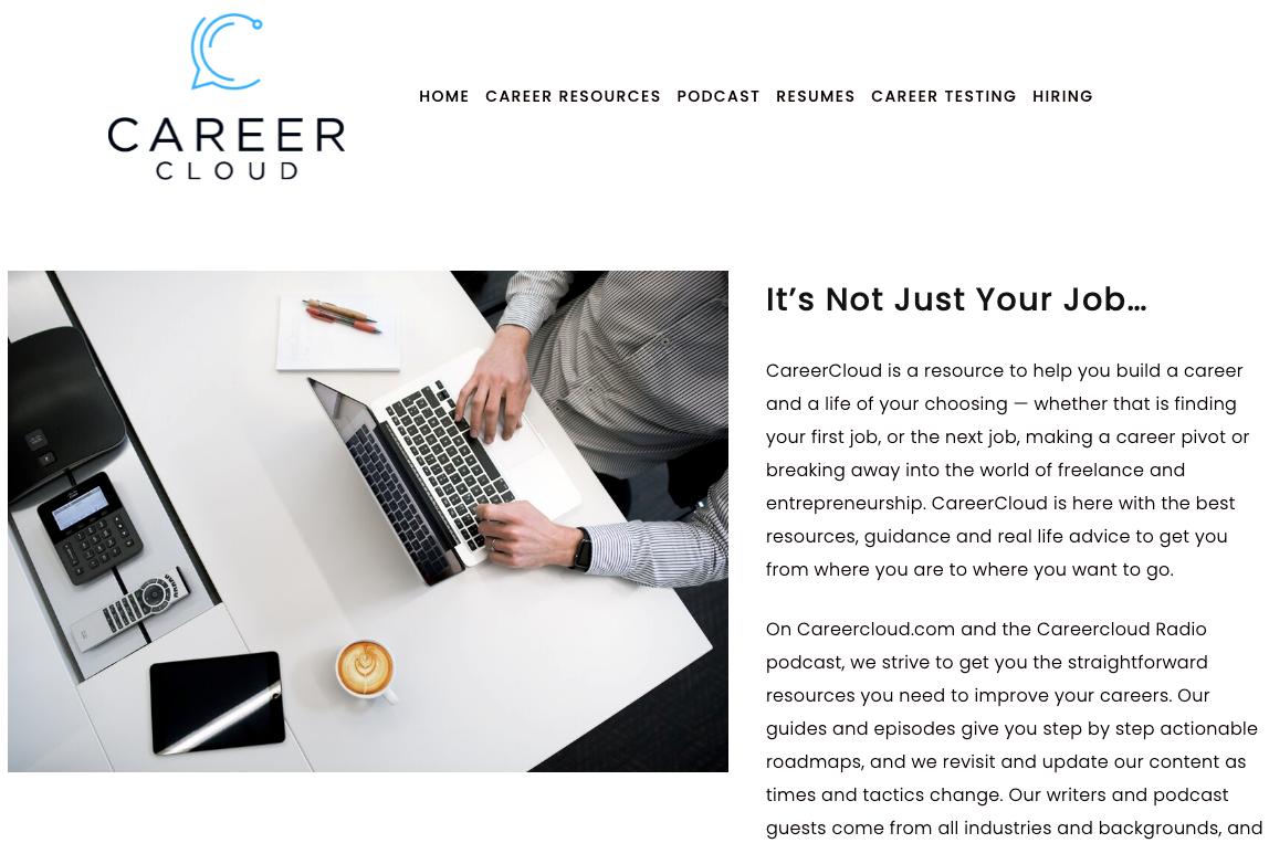 CareerCloud homepage