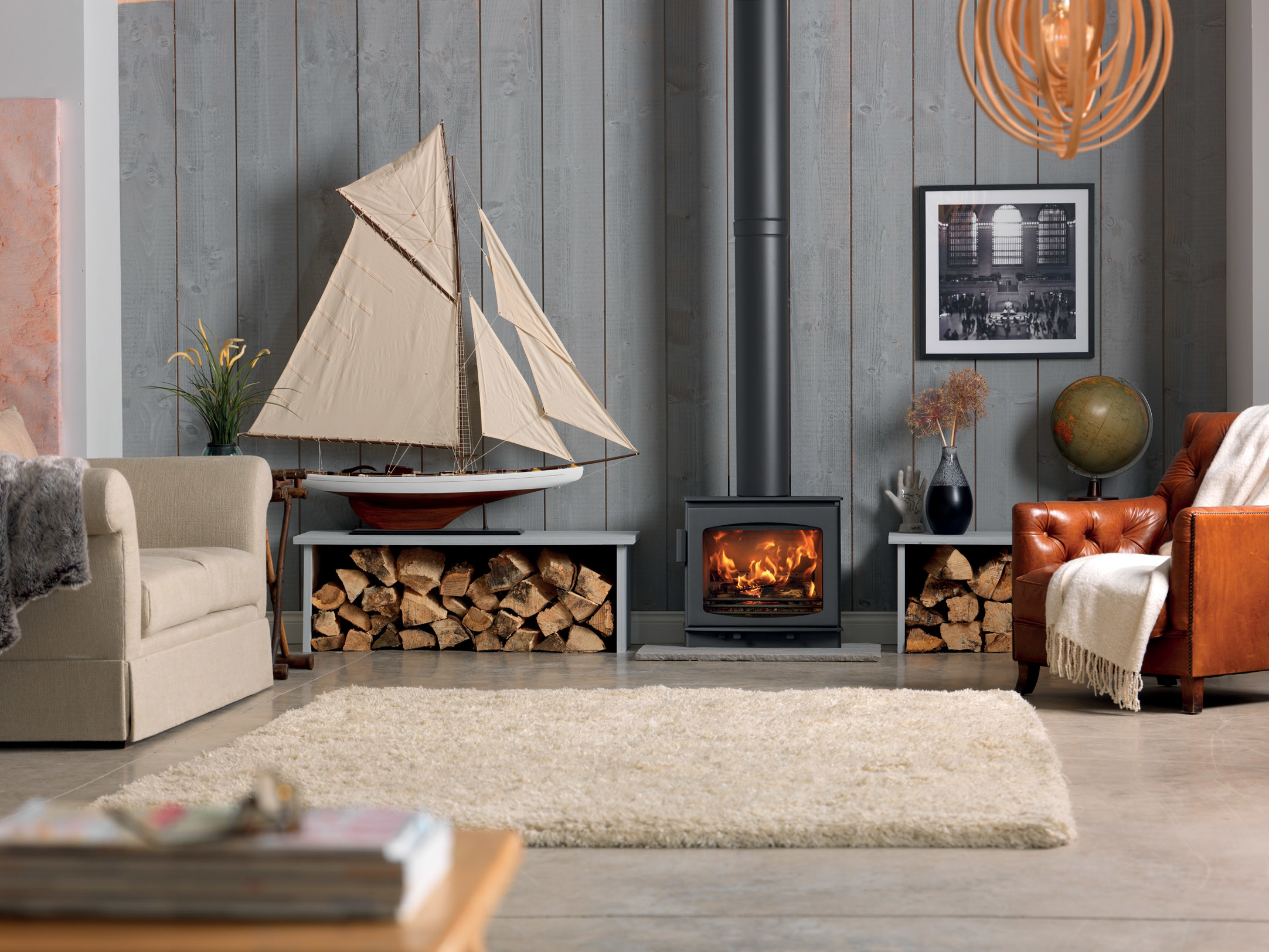 The Wychwood stove is DEFRA exempt enabling wood-burning in a controlled environment, SIA Eco Design 2022 ready.