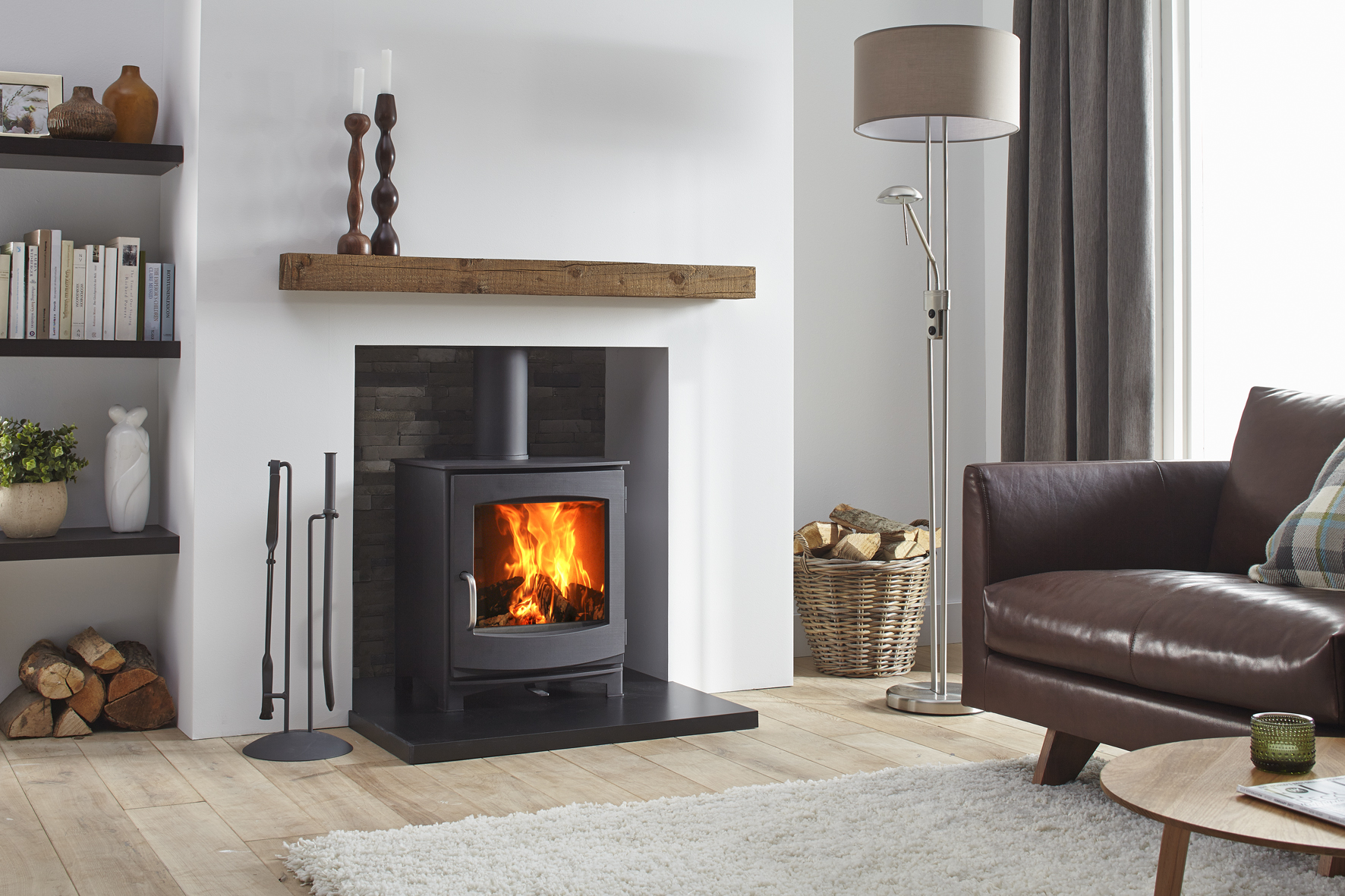 Witney Stoves can line your chimney, supply and install your stove