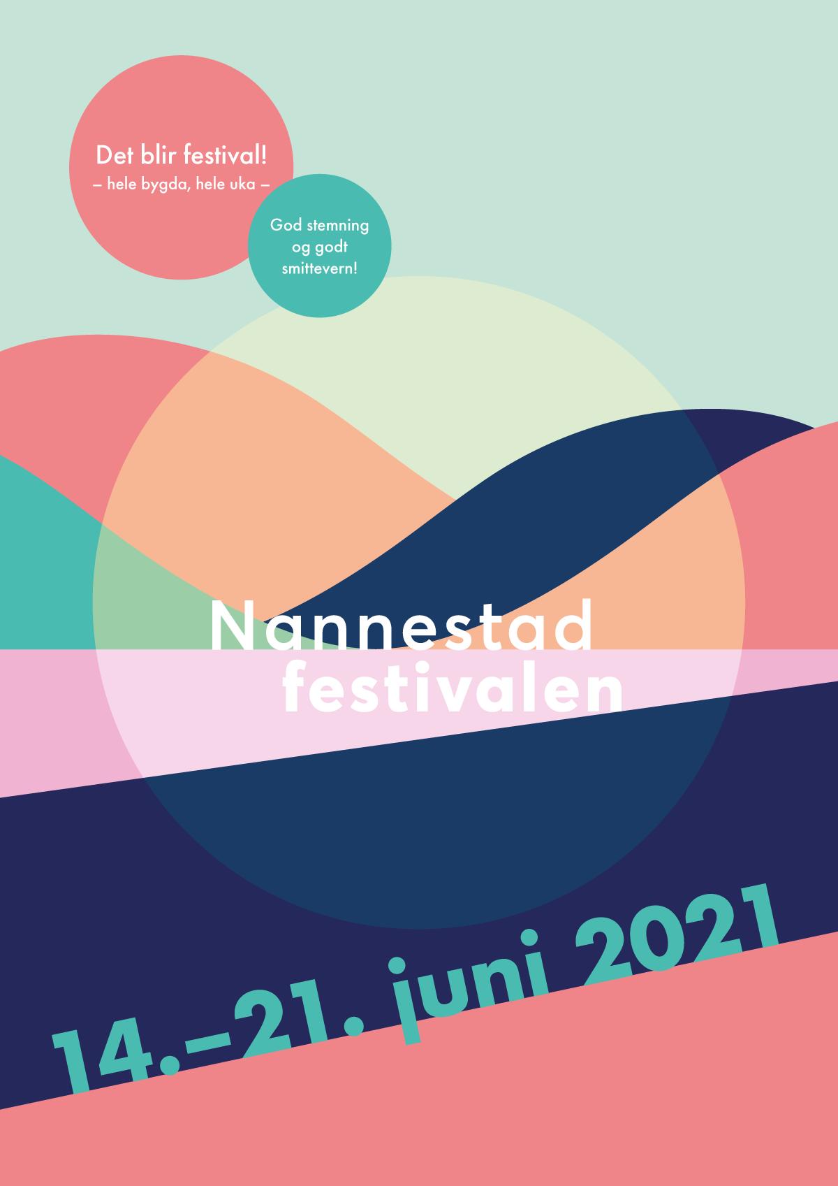 Nannestadfestivalen 2021, poster