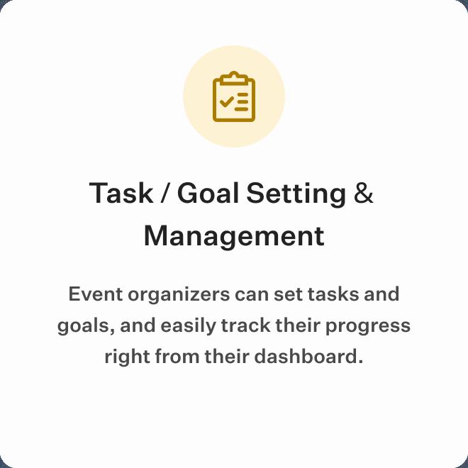 Task / Goal Setting & Management