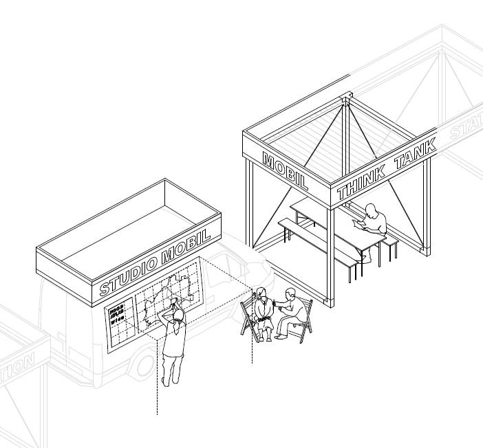 Das Open Studio als offener Arbeitsraum