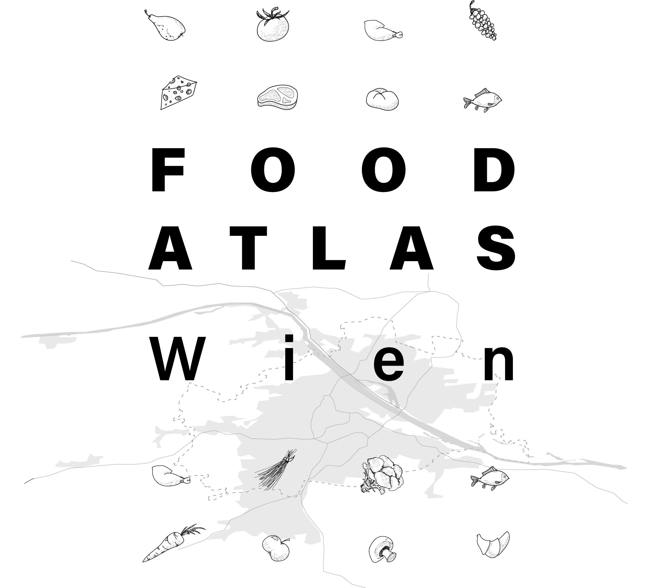 FOOD ATLAS Wien Titelgrafik