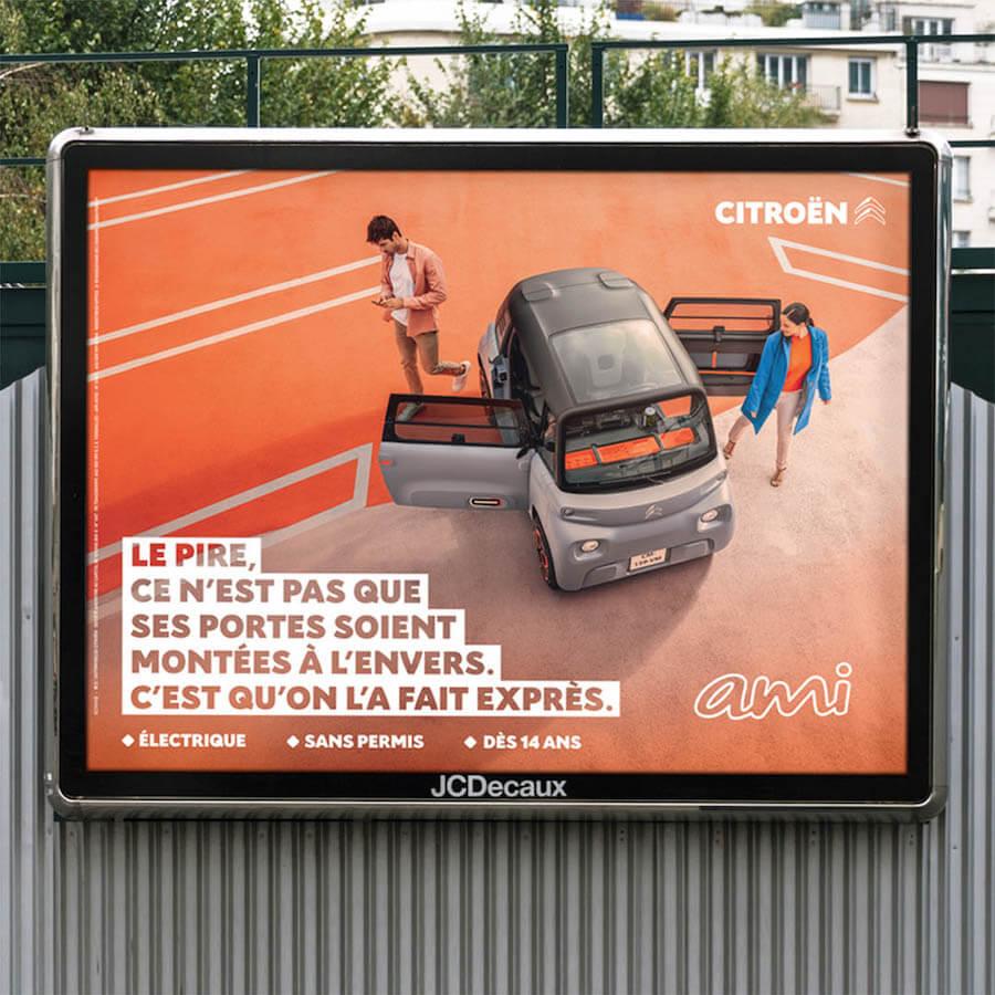 Citroen AMI Campagne