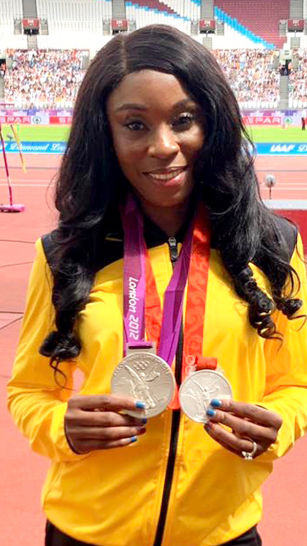 Shericka Williams - 400m, 3x Silver Olympics, 5x Silver Worlds, 400 metre (49.32s)