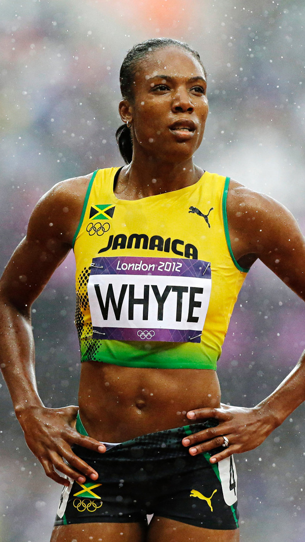 Rosemarie Whyte - Olympic Silver 4 × 400m relay, Long Jump, World Champion