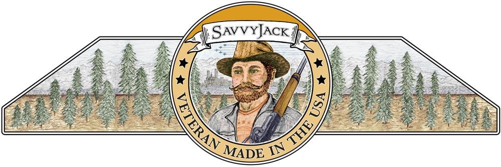 SavvyJack trapezoid logo