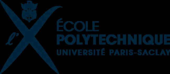 logo ecole polytechnique bleu marine