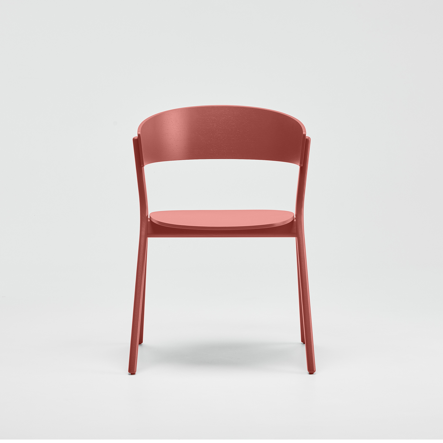 EDITS Circus wood chair in Japan Red lacquer