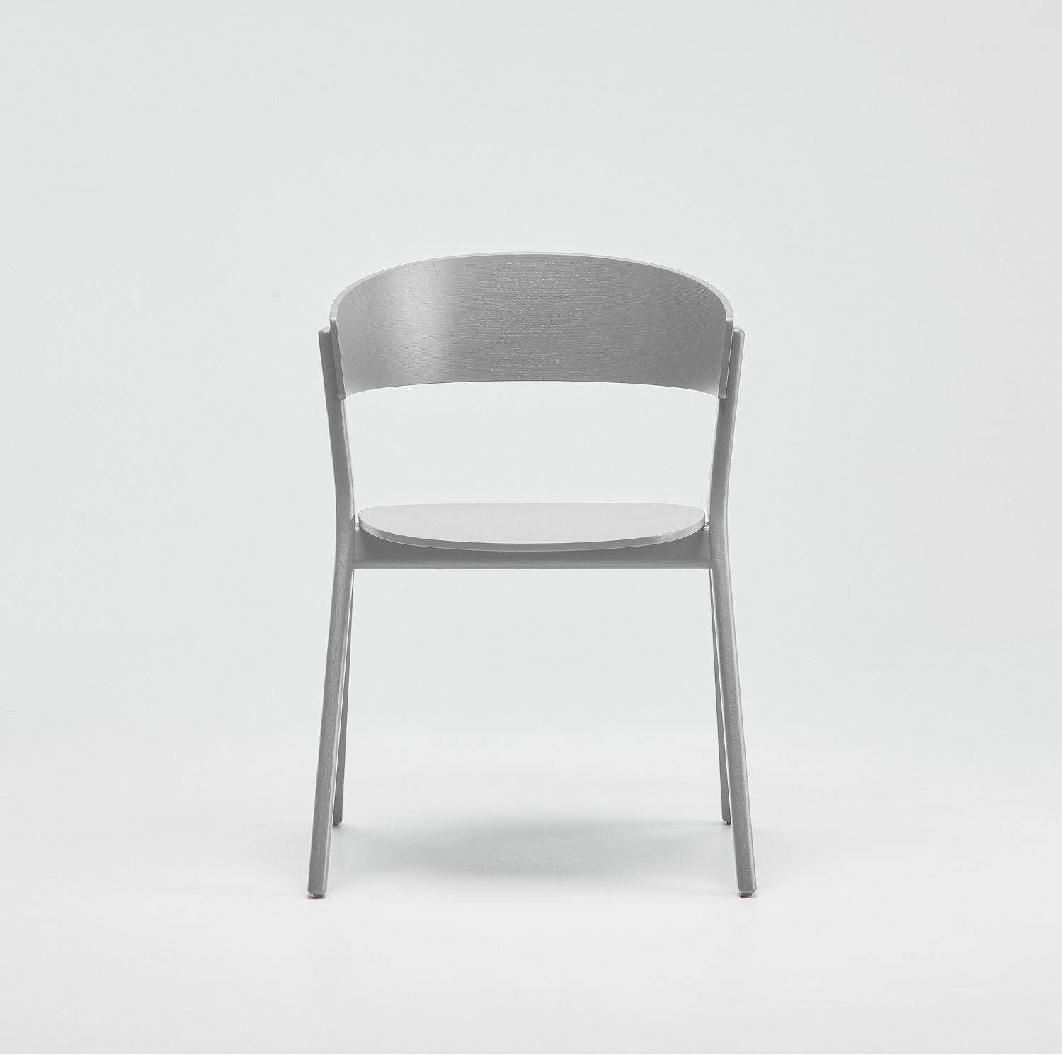 EDITS Circus wood chair in Traffic Grey lacquer