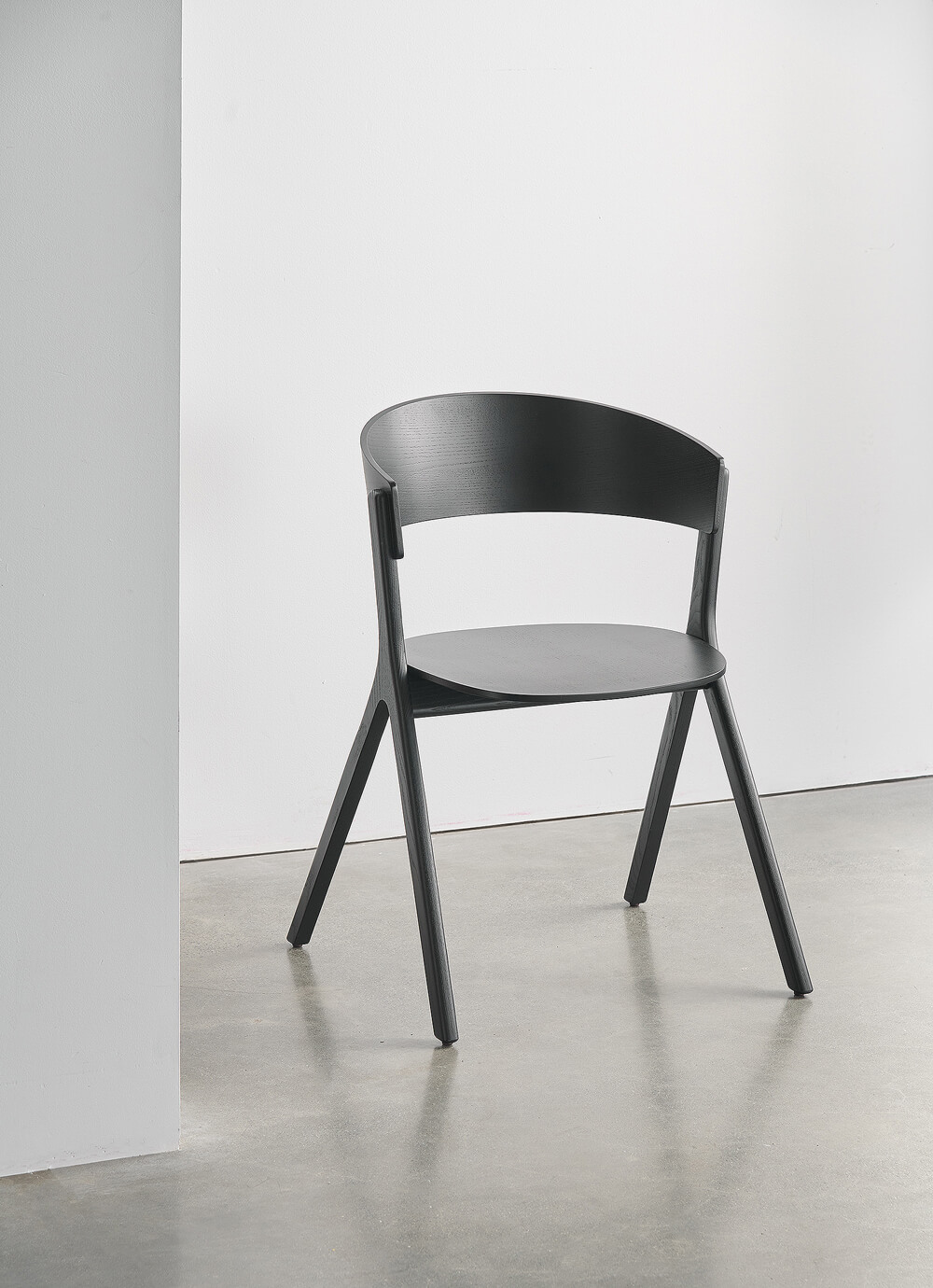 EDITS Circus wood chair in Black Ash