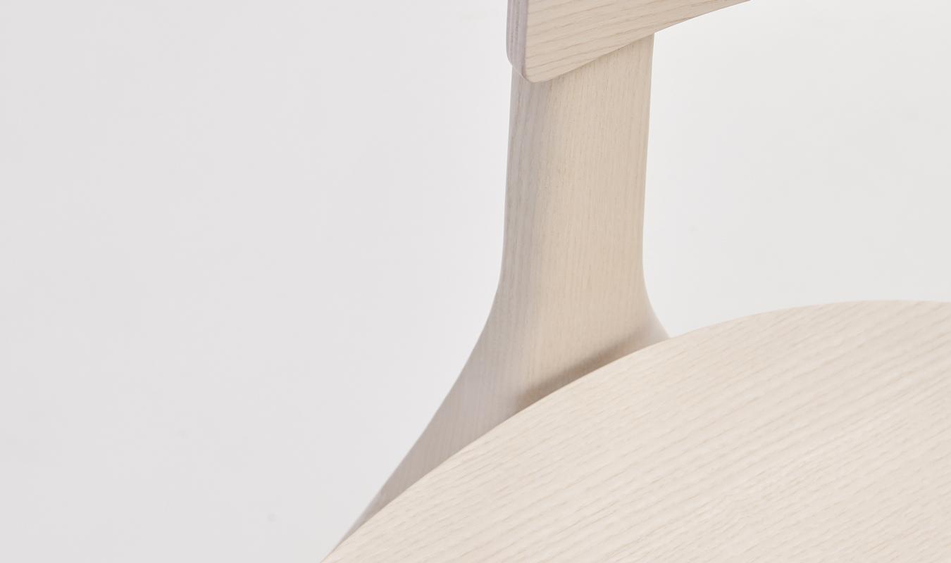 EDITS Circus wood chair detail in Natural Ash