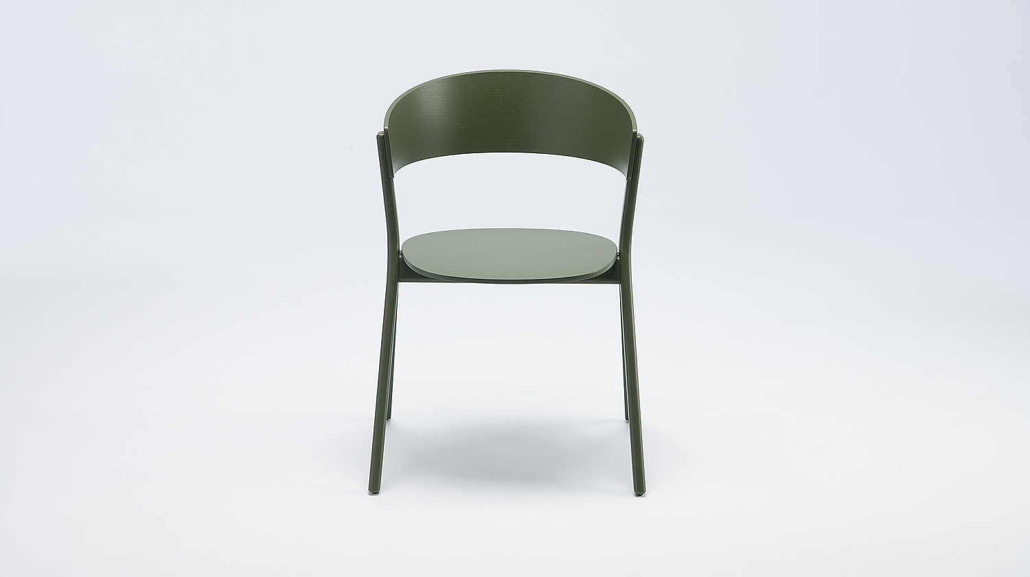 EDITS Circus wood chair in Olive Green