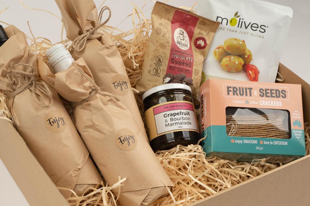 Virtual Event Box Gift Box Example