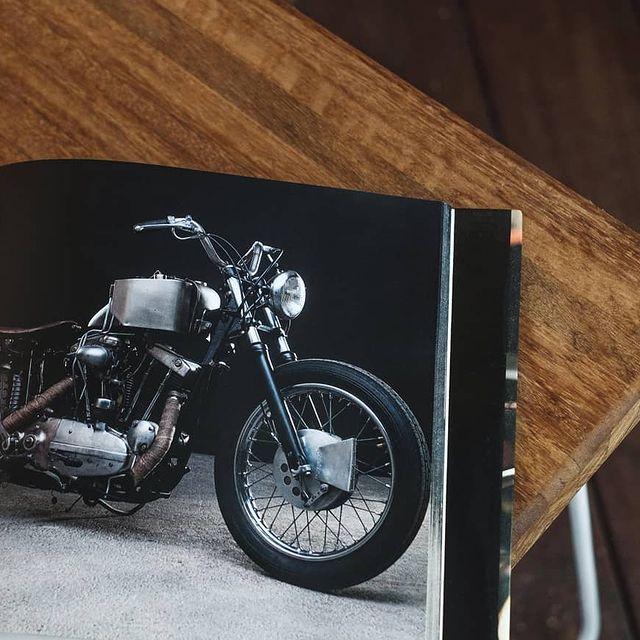 Custom motorcycles in instagram