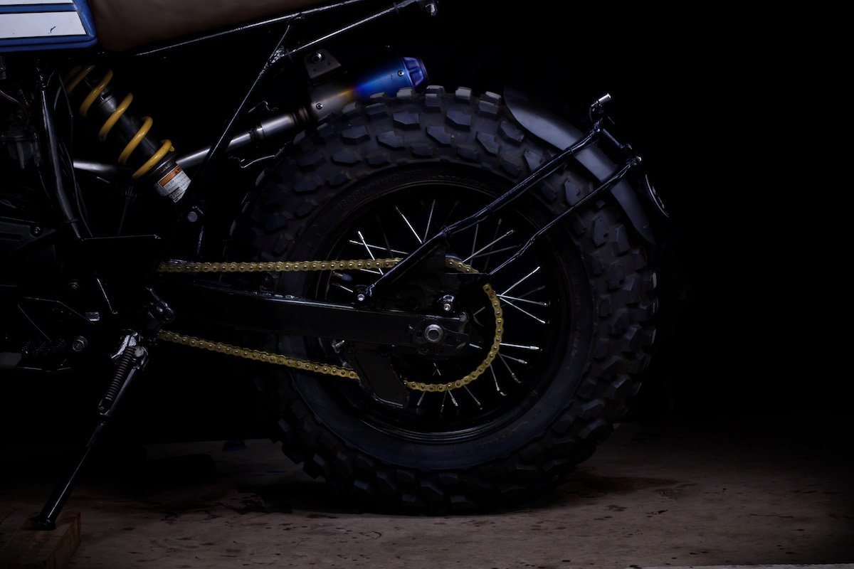 Custom Yamaha TW200