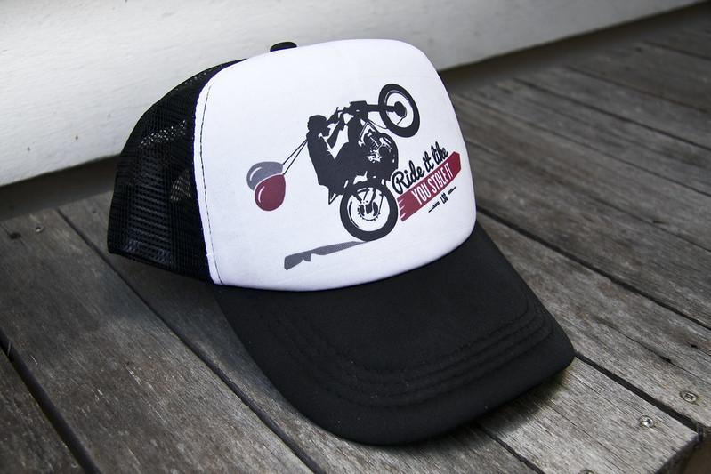 Ride It Like You Stole It Truckers Cap